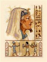 ...египет. люди. фараон. вышивка крестом (схемы вышивки для ознакомления)/египет.