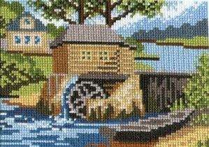 Это картинка местного производства и местного же вида.  Есть у нас такой музей деревянного зодчества.
