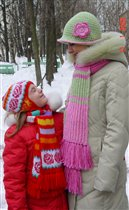 Описание: Вязание спицами детская зимняя.  Автор: Клавдия.