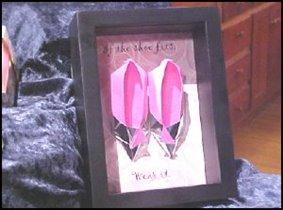 Туфли из бумаги (Оригами)