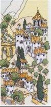 """Предпросмотр - Схема вышивки  """"Городской пейзаж """" - Схемы автора  """"lucha """" - Вышивка крестом."""