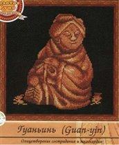 Набор для вышивания Гуаньинь, Золотое руно Н-001 купить в санкт петербурге Шале, Aida 14, Счетный крест.