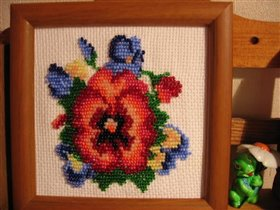 bead flower