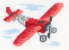 Набор для вышивания Кукурузник, РТО Н126 купить в санкт петербурге Шале, Aida 14, Счетный крест.
