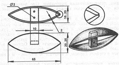 Украина, Полтава.  Челнок - это инструмент для плетения кружев.  Чтобы посмотреть, какие они бывают...