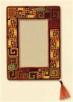 Набор для вышивания Рамка Перу, Риолис 855 купить в санкт петербурге Шале, Aida 16 (К6), Счетный крест.