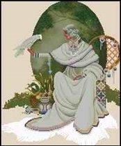 """Схема вышивки  """"Дама природа """" - Схемы автора  """"anor """" - Вышивка крестом."""