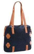 Женская сумка Eleganzza темно-синего цвета, выполненная из натуральной замши (лицевая стенка) и натуральной глянцевой.