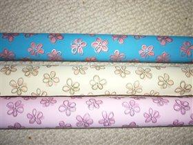 Бумага люкс 206-70 цветы (100х70см)