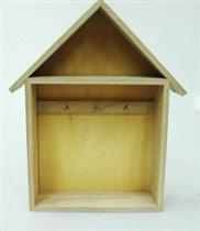 Шкафчик для ключей, деревянный дом