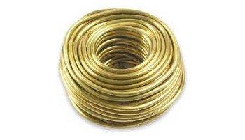 0286 Проволока алюминиевая, золотой