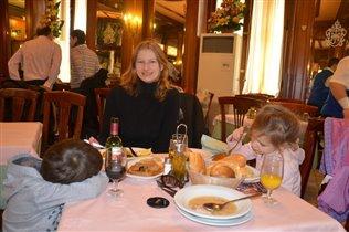 Обед в Мадриде