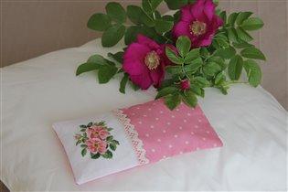 Розовое саше