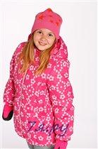 W1639 удлиненная куртка CITY для девочки