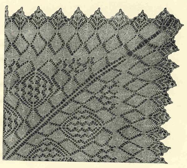 Художественное вязание спицами