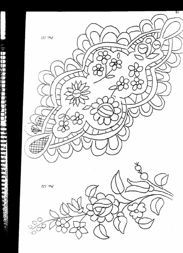 схема ддля венгерской вышивки. венгерская вышивка