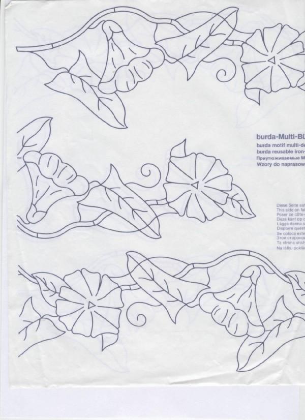 Схема уроков вышивки гладью