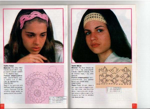 Модные полоски на голову