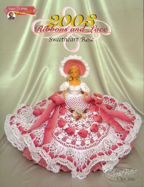 Платье вязанное спицами для кукол