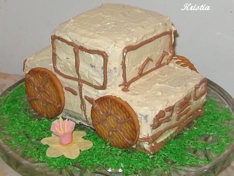 Торт машина своими руками фото