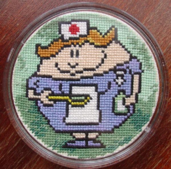 Медсестра. Мои вышивки