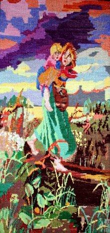 Картины дети бегущие от грозы