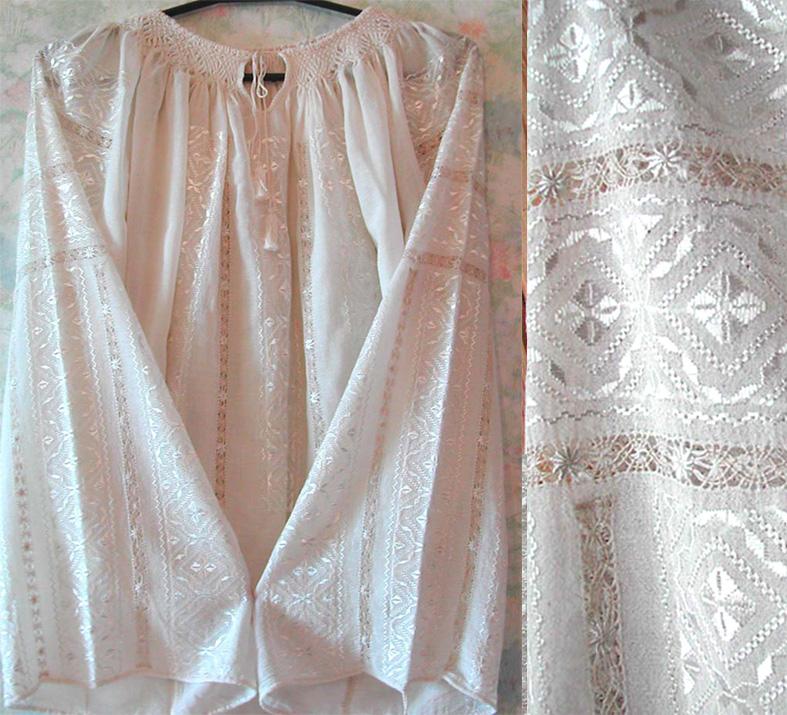 Белая сорочка.  Вышиванки.