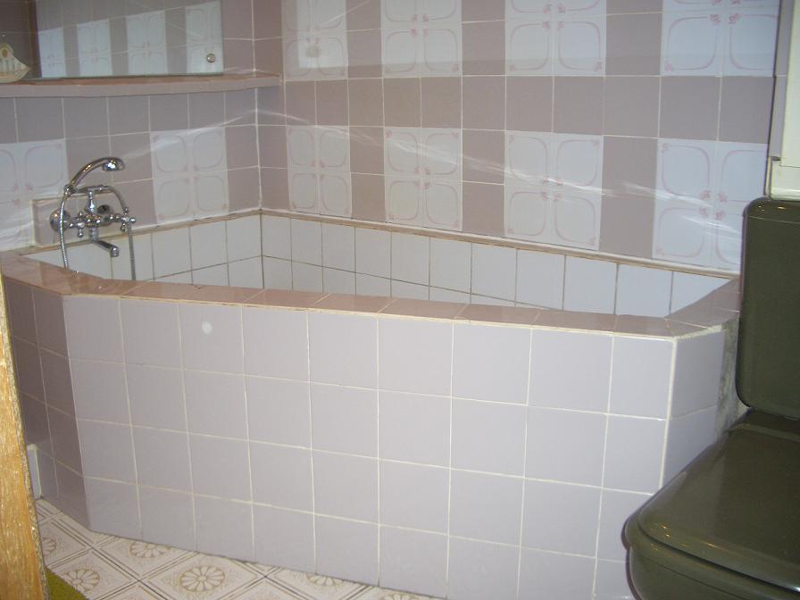 Ванна из кафеля своими руками фото