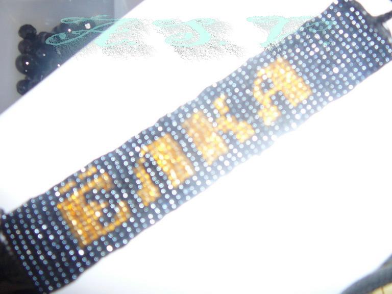 Схемы фенечек с именем таня
