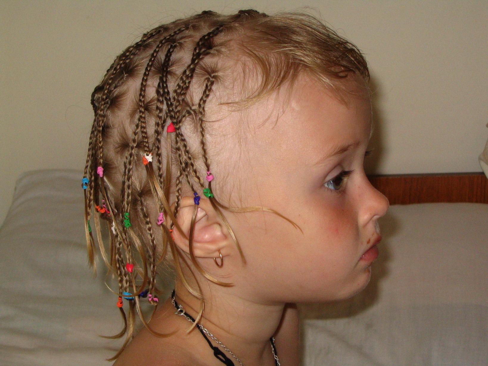 Картинки косички на средние волосы - 1