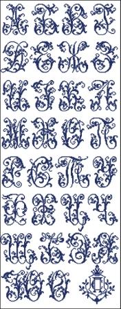 Большие красивые буквы алфавит