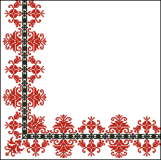 Вышивка крестом - Схемы