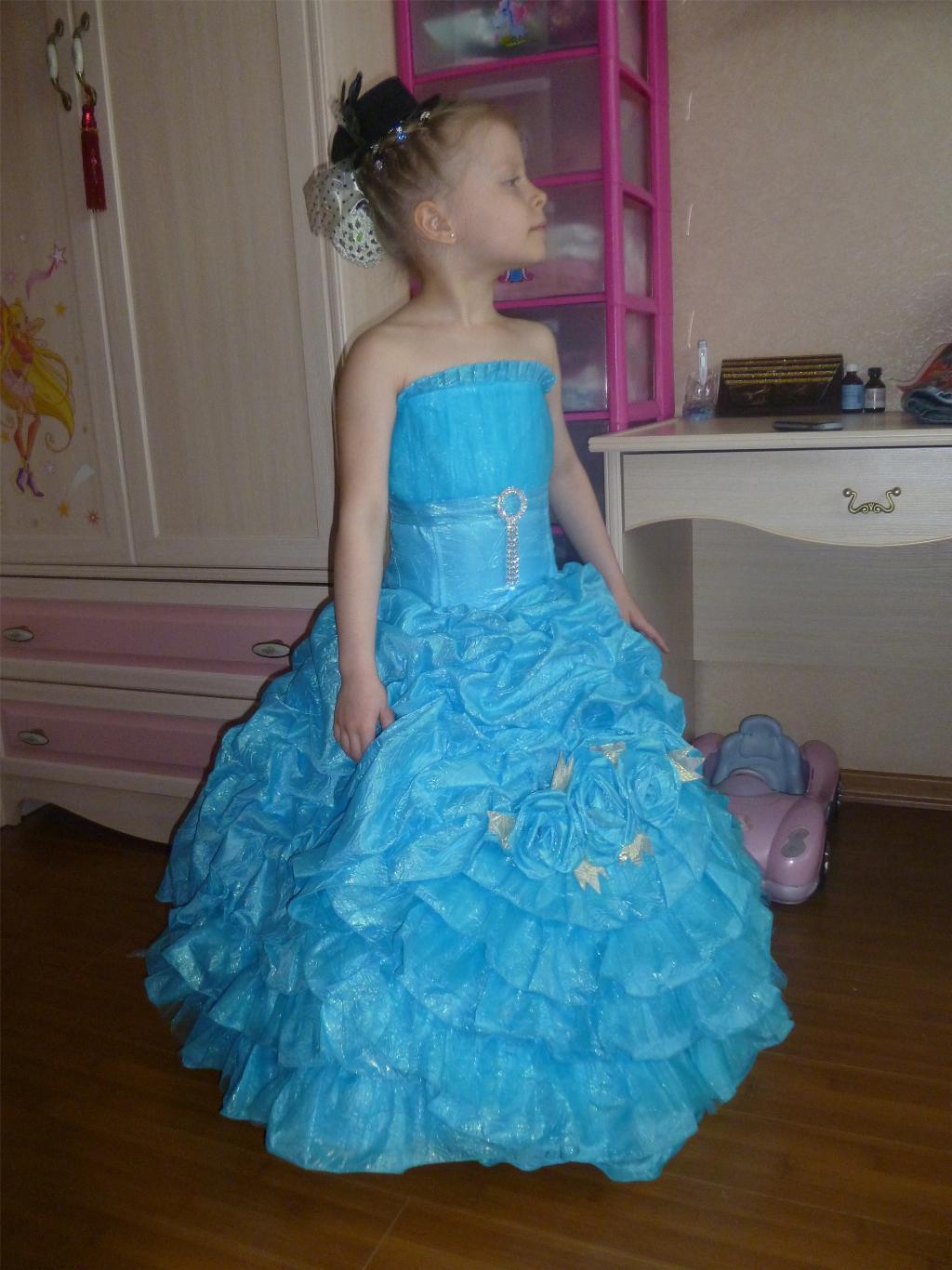 Купить Бальные Платья Для Девочки