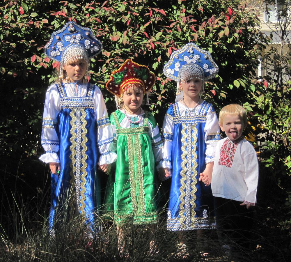 Русские народные костюмы фото