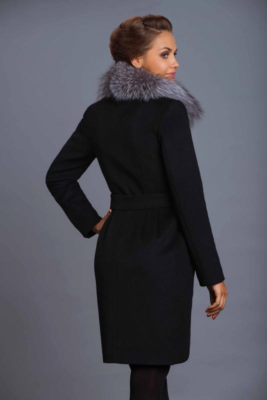 Зимнее пальто с мехом все о моде
