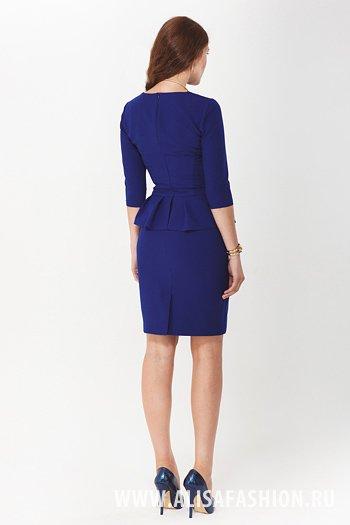 фото платье цвета индиго