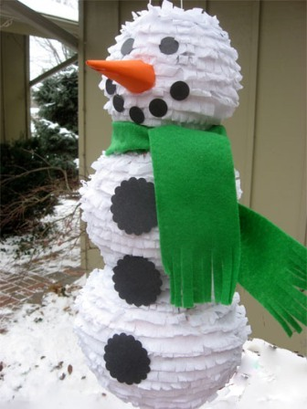 Как сделать снеговика своими руками из бумаги мастер класс - Master class