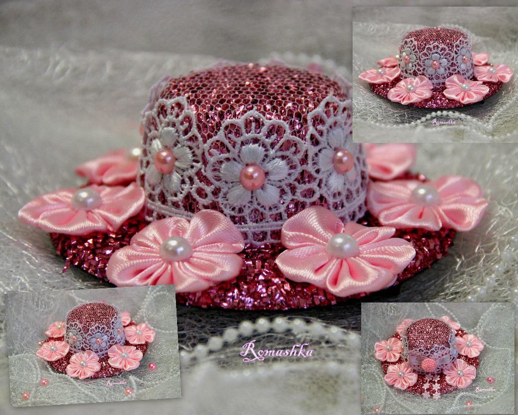 Новогодняя шляпка - Клумба'. Украшения для волос в наличии. Фотоальбом участника Marina_79 на 7я.ру