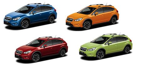 Расцветки Subaru XV