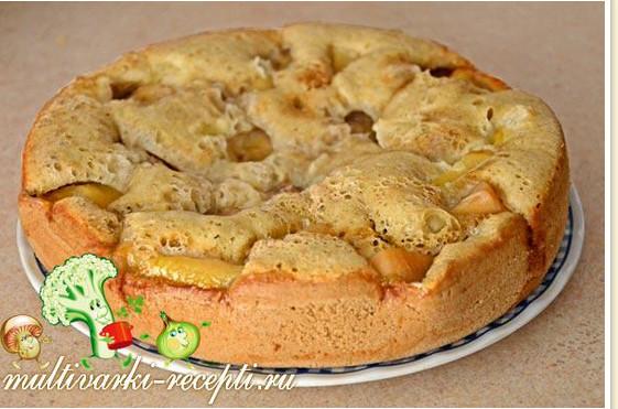 Шарлотка с бананами без яиц рецепт с фото пошагово самый вкусный