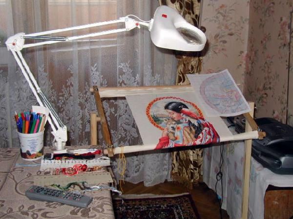 Рабочие место вышивка крестом 179