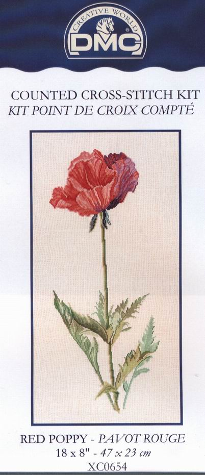 Red Poppy-DMC