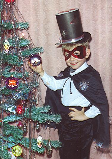 Новогодний костюм мистера икс своими руками