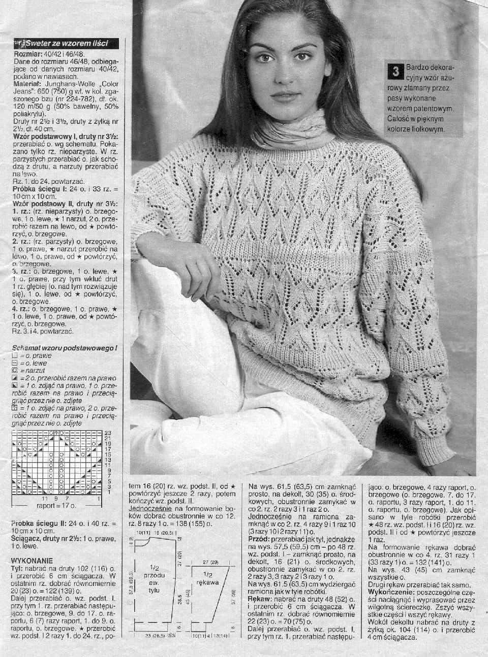 Журналы по вязанию спицами пуловеры