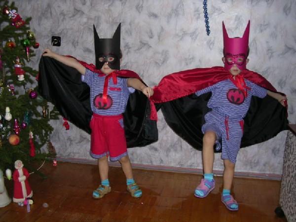 Новогодние костюмы для мальчиков бэтмен своими руками