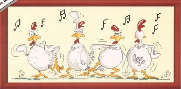 Петухи поют прикол на новый год