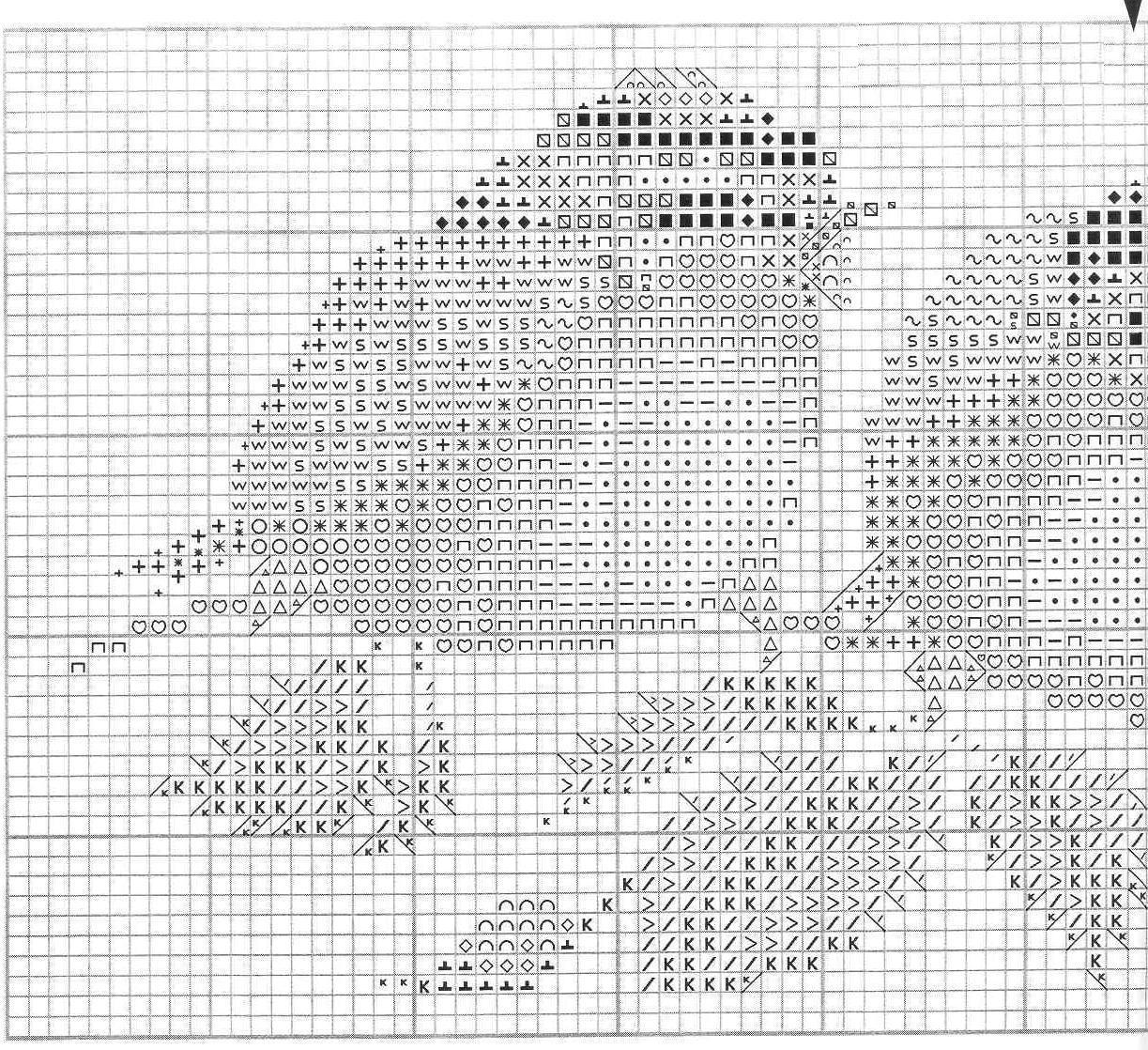 Схемы для вышивки от херитаж