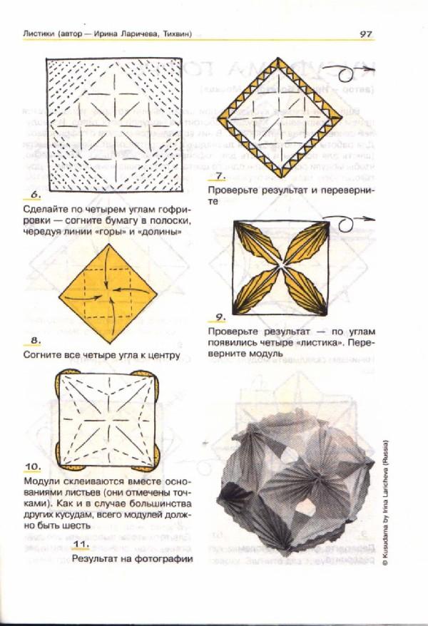 Как сделать волшебный шара из бумаги