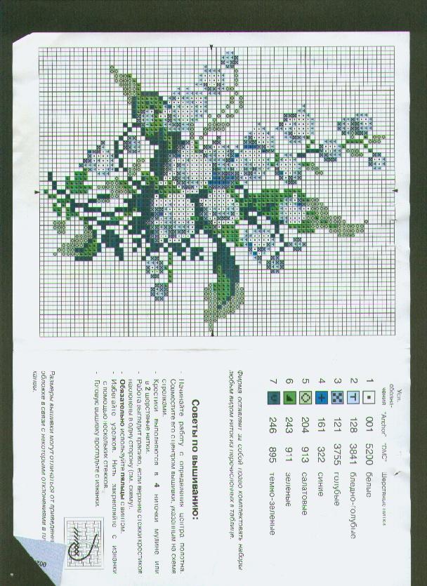 Схема вышивки цветы риолис - купить наборы для вышивки крест.