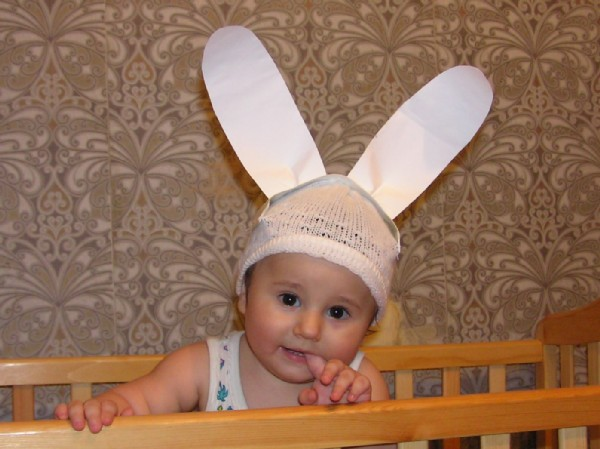 Уши зайчика для мальчика своими руками фото 140